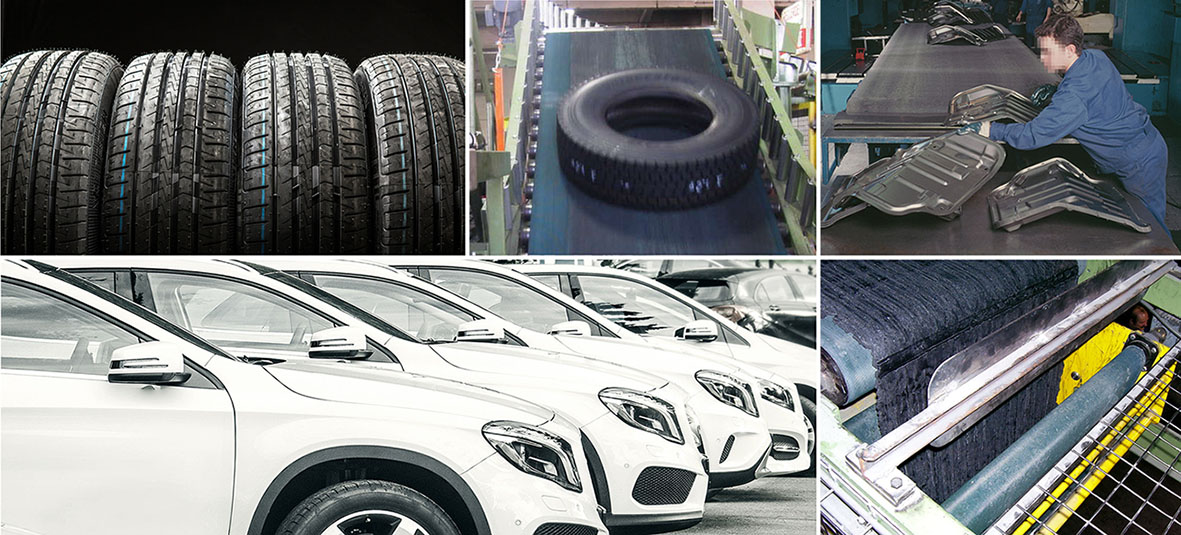 Esbelt Conveyor Belts for Car Industry