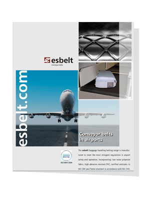 Esbelt Conveyor Belts in Airports