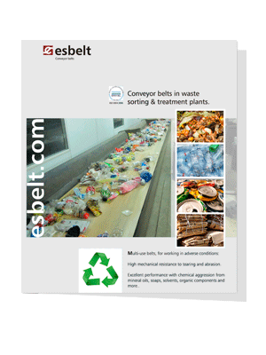 Esbelt Conveyor Belts in Recycling Plants