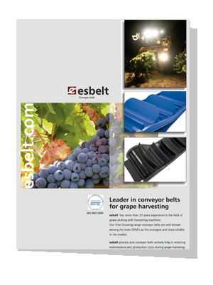 Esbelt-Grape-Harvesting-conveyor-belts-catalogue