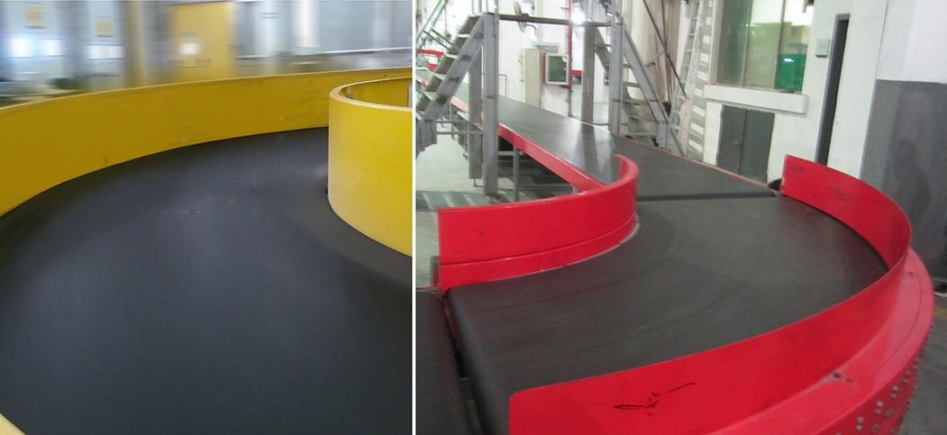 Esbelt Curved Conveyor Belts