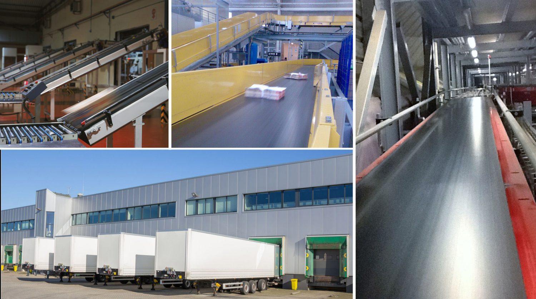 Esbelt Conveyor Belts for Distribution Centres