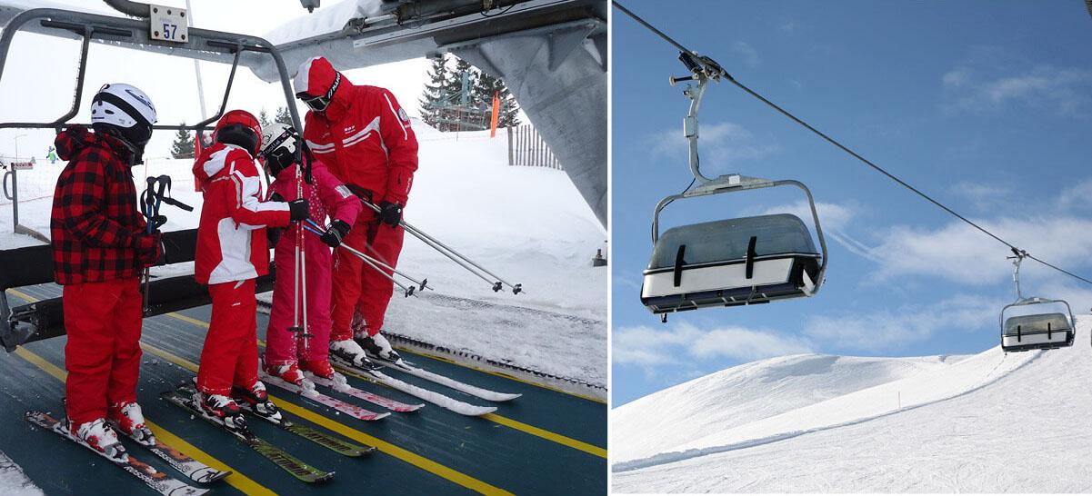 Bandas Transportadoras para Esquí