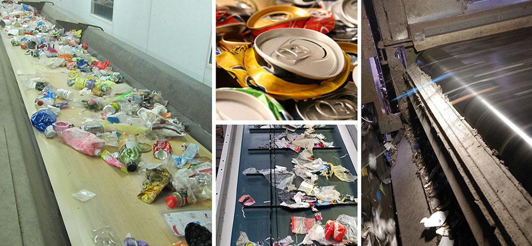 Bandas para la Industria de Reciclaje