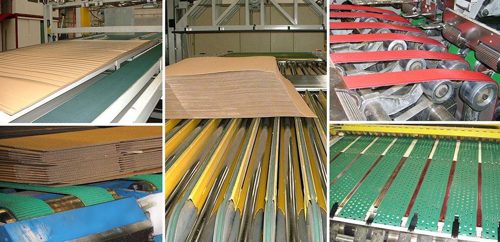 Esbelt - bandas para Cartón corrugado