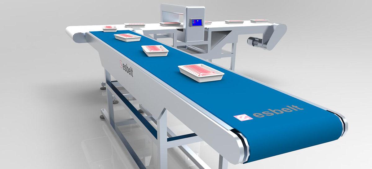 Food belts - metal detectable belt